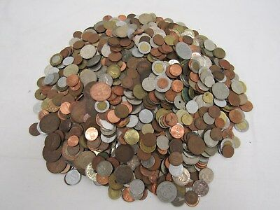 5.4 KG Job Lot of Mixed Coins - Unsorted Mix of Old & Foreign - TIV P18