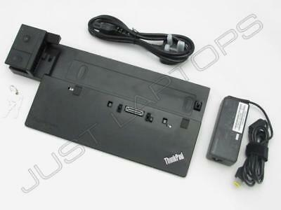 IBM Lenovo ThinkPad Pro Dock Type 40A1 Docking Station w/ Keys + 65W PSU