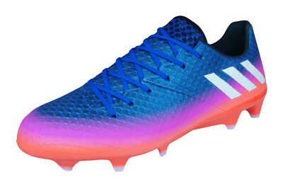 7dce722db Mens adidas Messi Soccer Cleats 16.1 FG Firm Ground Football Shoes - Blue  Orange