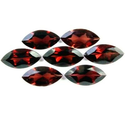 Wholesale Lot of 10x5mm Marquise Cut Mozambique Garnet Loose Calibrated Gemstone