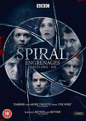 Spiral Season 1 2 3 4 5 6 Series The Complete Collection 1-6 New DVD Box Set