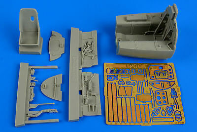 Aires 2198 - 1:32 Me 163B Komet cockpit set for Meng  - Neu