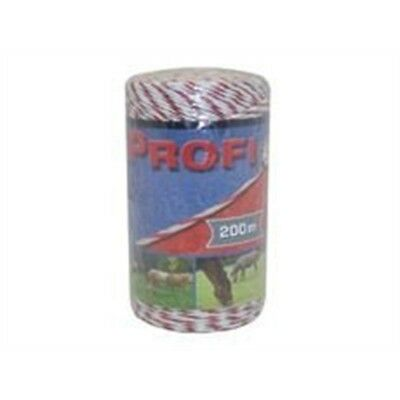 Corral Profi Fencing Polywire x 200 Metres - 200m Equine Horse Electric