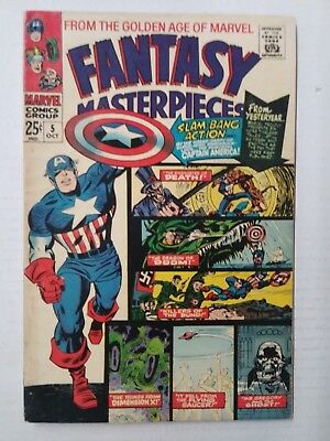 Fantasy Masterpieces #5(1966) FN+ Shape, Marvel Comics, Free Shipping!
