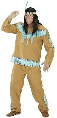 L M Native American Apache Indian Shirt Coat Tunic Mens Fancy Dress S