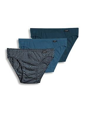 Jockey Mens Elance Bikini 3 Pack Underwear Bikini Briefs 100% cotton