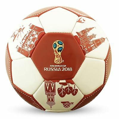 FIFA World Cup 2018 Football White/Red Soccer Ball
