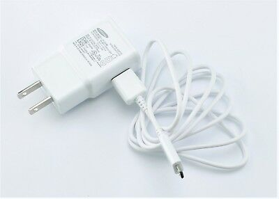 OEM Samsung Home Wall AC Wall Fast Adapter + Sync and Charger Micro USB Cable