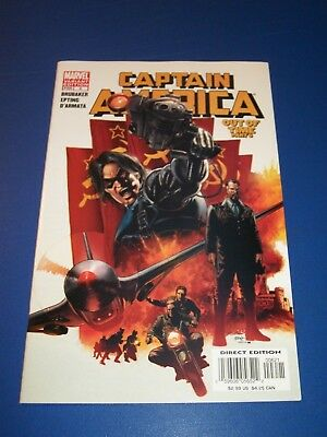 Captain America #6 Rare Variant 1st Winter Soldier Huge Key NM Gem Wow