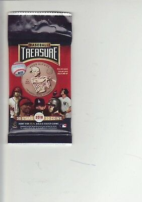 "2018  ""BASEBALL TREASURE""   1 oz. Copper Round Coin  ""UNOPENED""   PLAYER PACK"