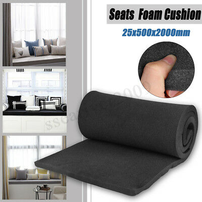High Density Seat Foam Rubber Replacement Upholstery Cushion Pad 1''X20''X79''
