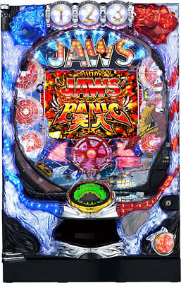 "JAWS ""Its a Shark Panic"" Pachinko Machine Japanese BRUCE Movie Slot Pinball"