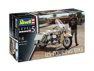 Revell 07937 - 1/8 US Touring Bike - Neu
