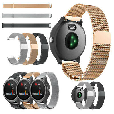 For Garmin Vivoactive 3 Band Milanese Loop Stainless Steel Strap Bracelets 2018