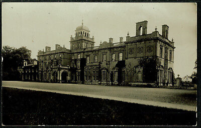 2 Early Real Photo Postcards - Large Country House - Where?