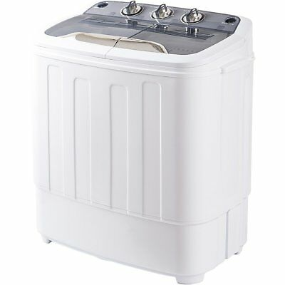 Merax Portable Mini Compact Twin Tub Washing Machine&Laundry Washer Spin Dryer