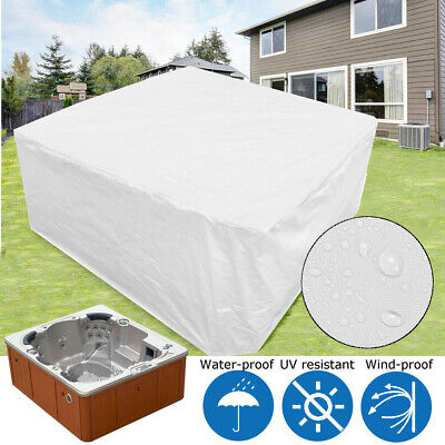 213x213x90cm Outdoor Tub cover guard Spa Polyester Dust Cover Cap Fits Jacuzzi