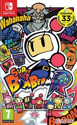 Super Bomberman R (Switch)  BRAND NEW AND SEALED - IN STOCK - QUICK DISPATCH