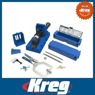 Kreg K5MS 336297 Jig Master System Pocket Hole Wood Joinery Kit Carpentry Tool