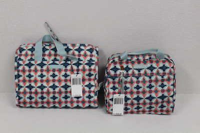 Lot of 2 Vera Bradley Water Geo