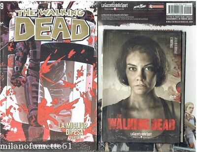 THE WALKING DEAD Gazzetta dello Sport n. 9 + DvD saison 3