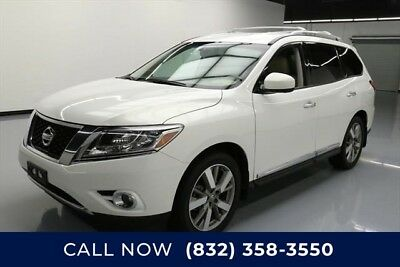 Nissan Pathfinder Platinum 4dr SUV Texas Direct Auto 2014 Platinum 4dr SUV Used 3.5L V6 24V Automatic FWD SUV