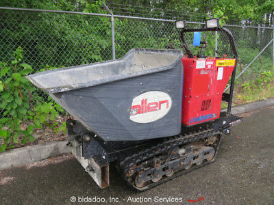 2015 Allen AT-16 Tracked Concrete Ride On Power Buggy Material Cart Kohler 27HP