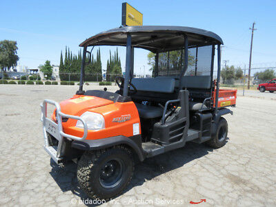 2014 Kubota RTV1140 CPX Utility Cart UTV Industrial Equipment Dump Bed - Repair
