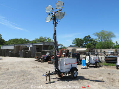 2012 Magnum MLT3060M Towable Light Tower Plant Mitsubishi Diesel Generator