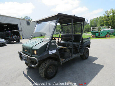 2015 Kawasaki KAF620R Mule 4WD 4010 UTV Cart Trans 4x4 Dump Bed Gas - Repair