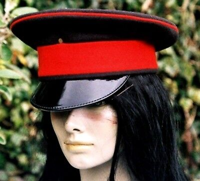 54fc6a94cb8 57 M ROYALS PEAKED CAP HAT British Army VISOR rock festivals fancy dress  Stage