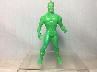 VINTAGE MEXICAN BOOTLEG FIGURE SILVERHAWKS LT COLONEL BLUEGLASS 80s No KENNER