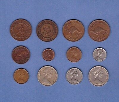 Australia (1924-1972) - Coin Collection Lot #K-49 - World/Foreign/Oceania
