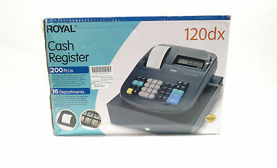 Royal 120DX Electronic Cash Management Register- 8/L40308B