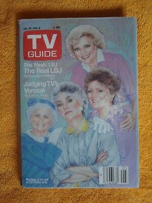 Golden Girls January 31, 1987 TV Guide Albany Edition