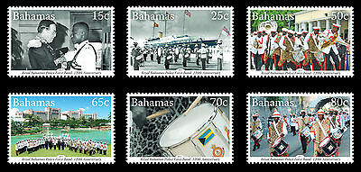 Bahamas 2013 Bahamas Police Force Band 6v set MNH