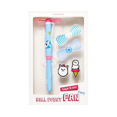 [ETUDE HOUSE] Sugar And Jam Ball Point Fan - 1pack (3items)
