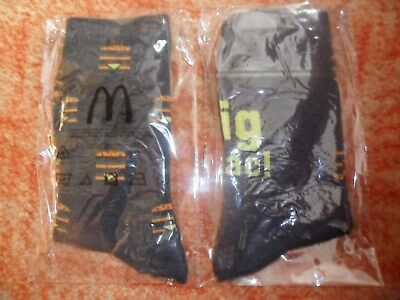 Mc Donalds , Socken Big Mac gr. 35-38 , 2 Paar, Neu