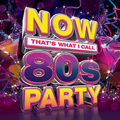 Now That's What I Call 80s Party CD Boxset NEW