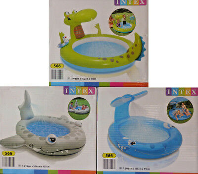 INTEX Planschbecken mit Brause Kinderpool Pool / NEU!
