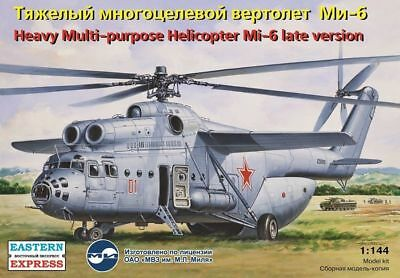 Eastern Express 14507 - 1:144 Mil Mi-6 Russian heavy multipurpose heli helicopte