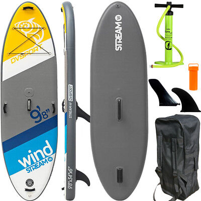 SUP SURF Board Stand Up Paddle aufblasbar BRAVO 4 Pump ISUP Paddling 295cm WOW
