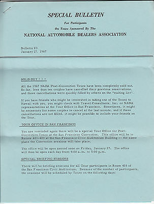 Automobilia Latest Collection Of Plymouth Chicago 1959 Nada National Automobile Dealers Association Paperweight