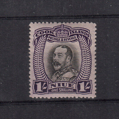 Nuie 1935 1/- Value Unmounted Mint Sg68