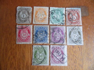 nickstampshop ~~ Norway ~ Mixed Used ~ Lot 2