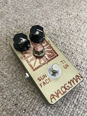 Analogman Sunface TI/UK Fuzz Pedal 2009 (sounds identical to NKT275 White Dot)