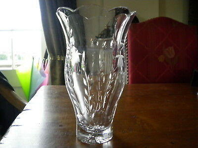 Vases Crystal Cut Glass Objects Crystal Cut Glass Glass
