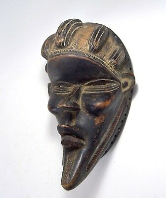 A Bold Dan Bassa African mask with Highly Stylized Form, African Art