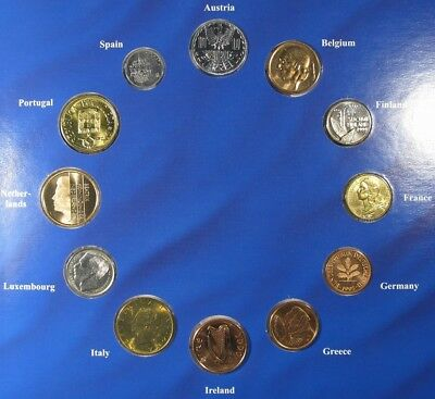 Euro-Zone Countries Collection of the National Coins