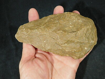A BIG! ONE Million Year Old Early Stone Age ACHEULEAN HandAxe Mauritania 500gr